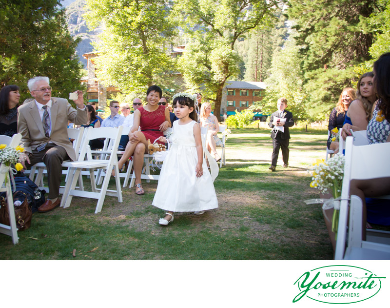 Flower Girl Majestic Yosemite Hotel