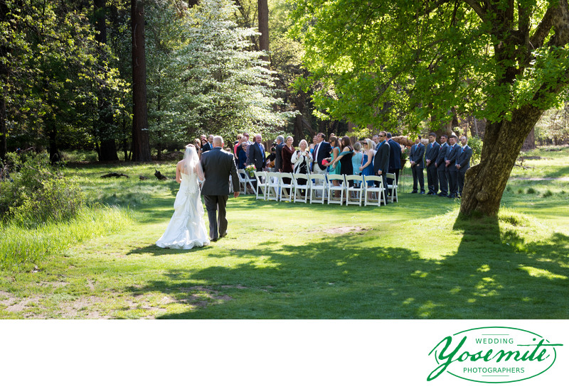 wedding lawn majestic yosemite hotel