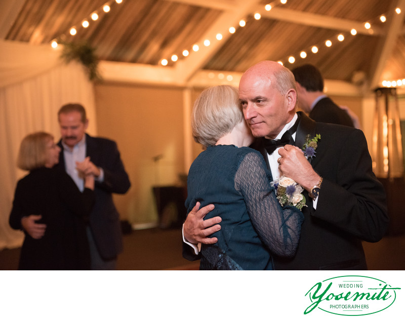 Father Of The Bride Dances With Mother Of The Bride Tenaya Lodge
