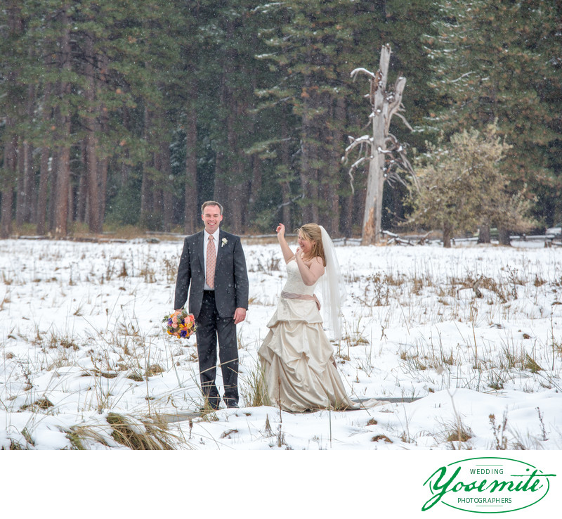 Winter Wedding Yosemite
