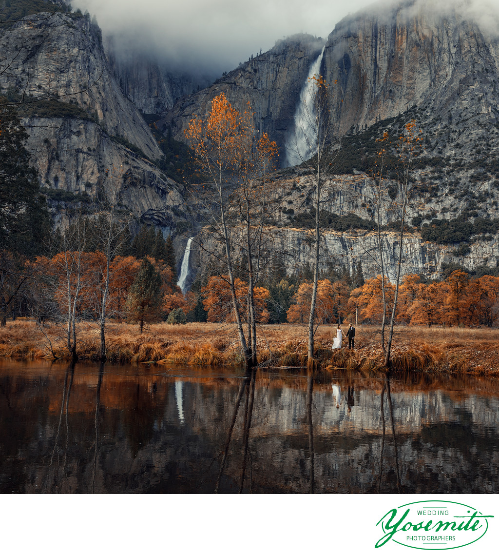 Yosemite Falls Wedding-Photography