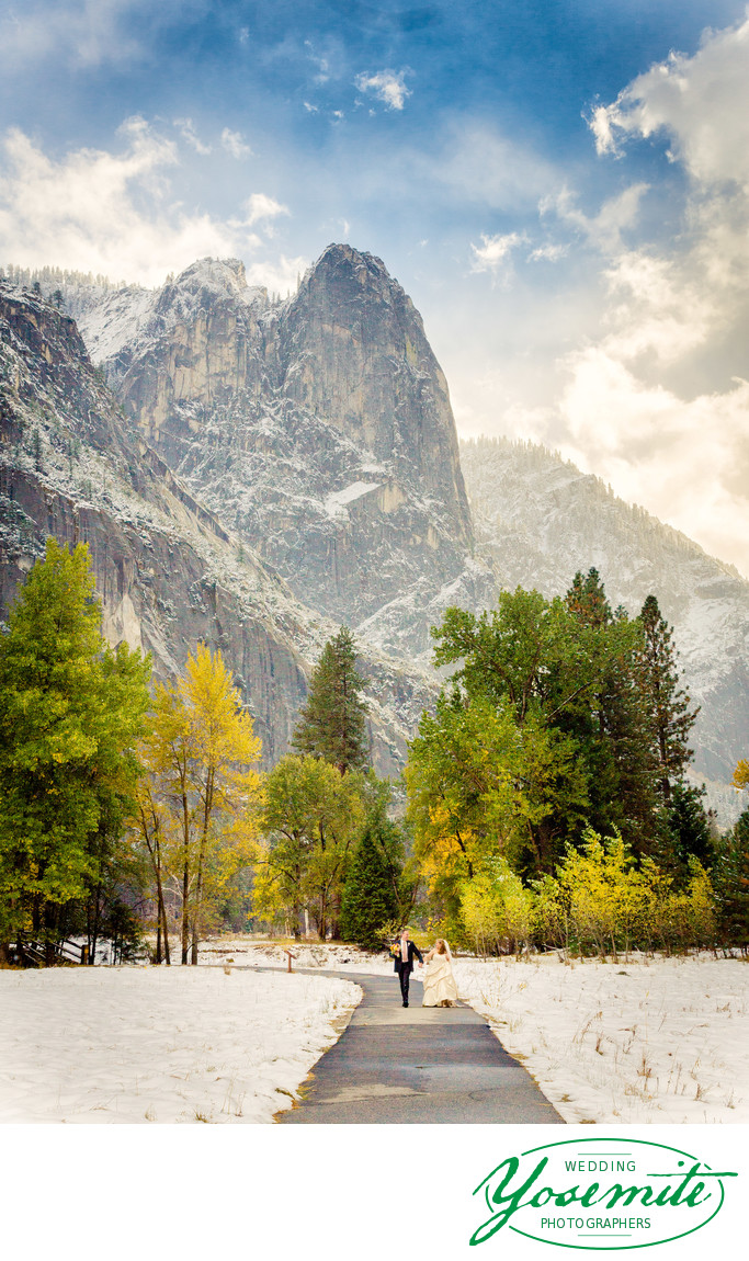 White Wedding Yosemite