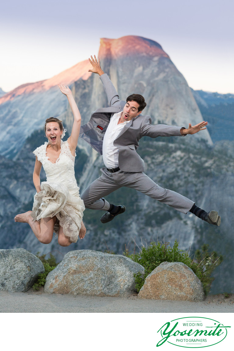 LA Couple Dance moves in on Glacier Point
