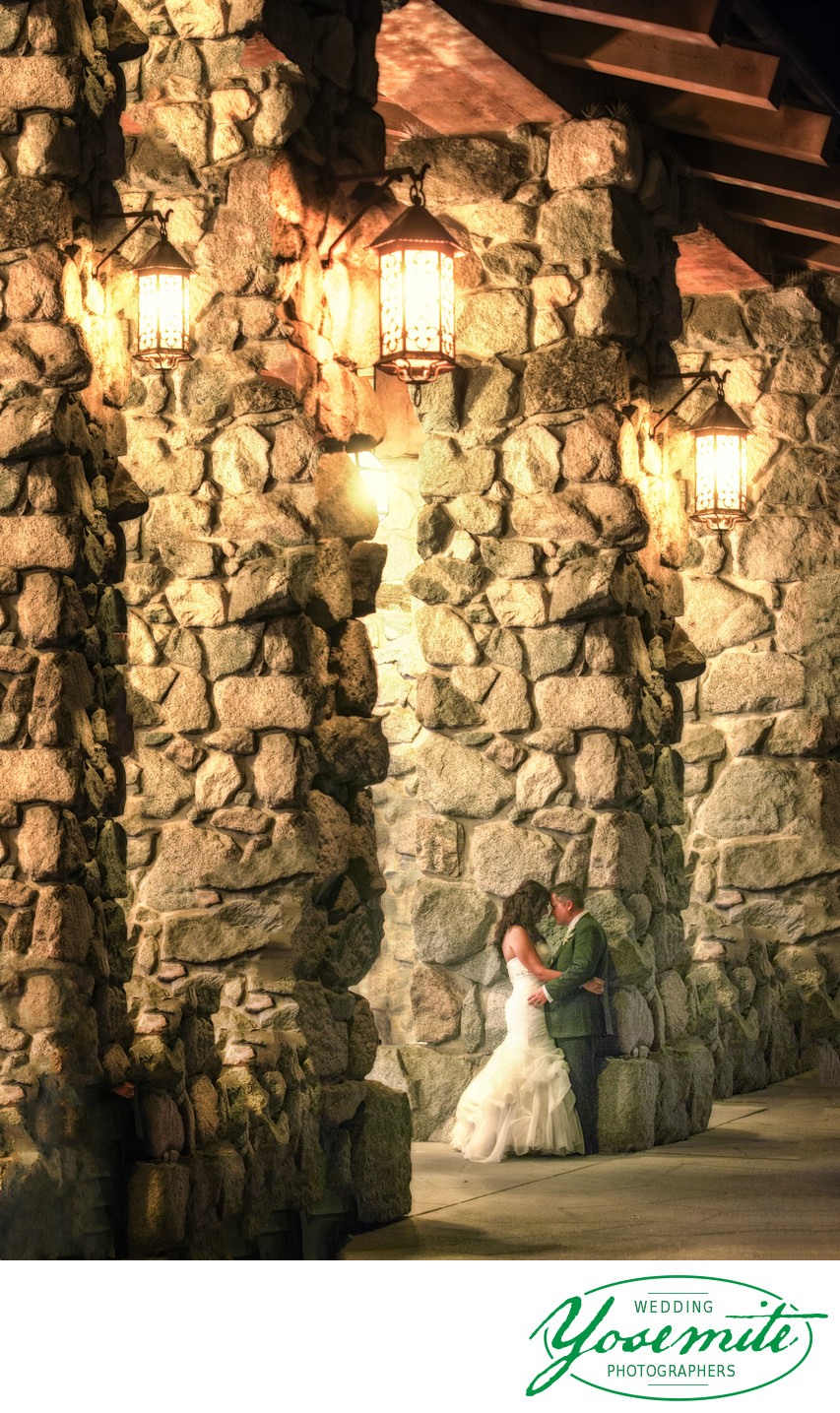 Just Married at the Ahwahnee Hotel