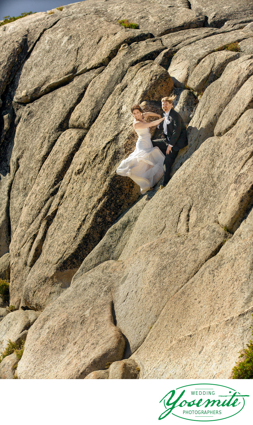 Rock Climber Married In Yosemite