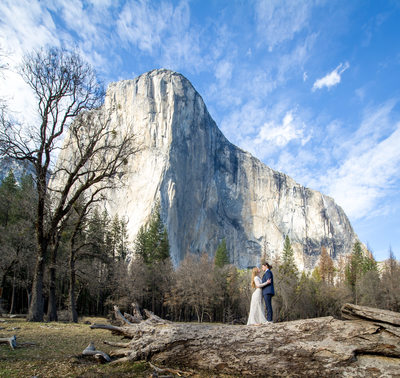 Wedding El Capitan Meadow