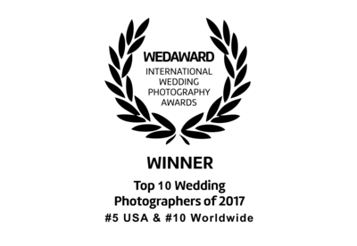 top wedding photographer usa