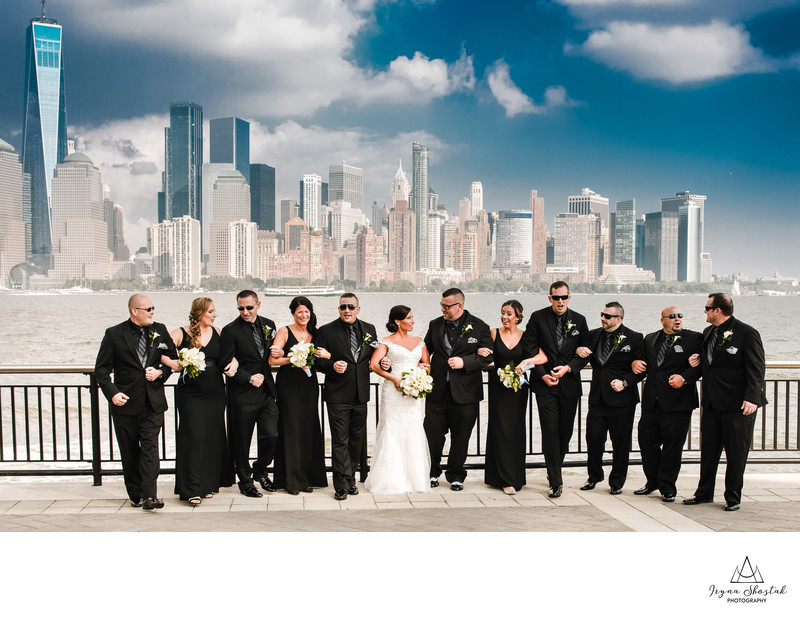 Wedding photography in New Jersey City