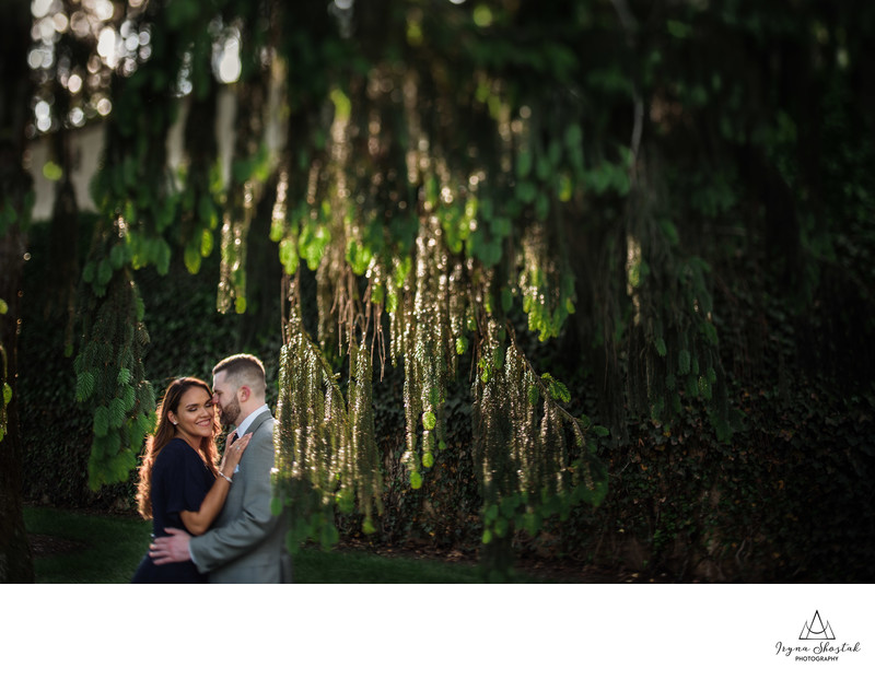 Longwood Gardens Couple's Portraits
