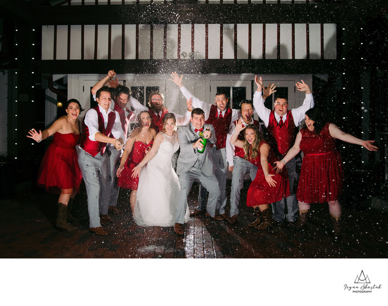Best wedding photography at Normandy Farm