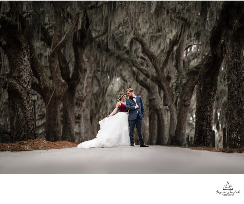 Bethesda Academy wedding photographer in Savannah