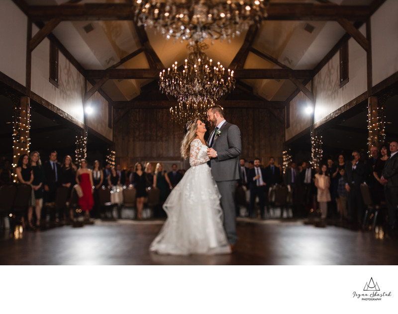 Grand Ballroom Normandy Farms wedding photographer