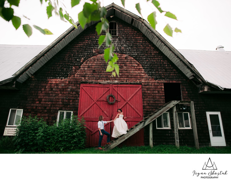 Wedding Photography at The Inn at Fernbrook Farms