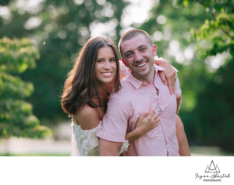 South Jersey engagement photographer at Batsto Village