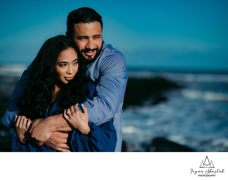 Ocean City engagement photo session
