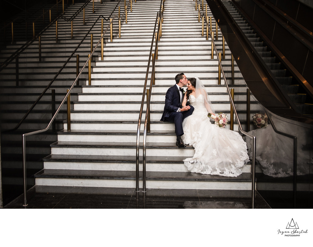 Loews Philadelphia Hotel wedding photography