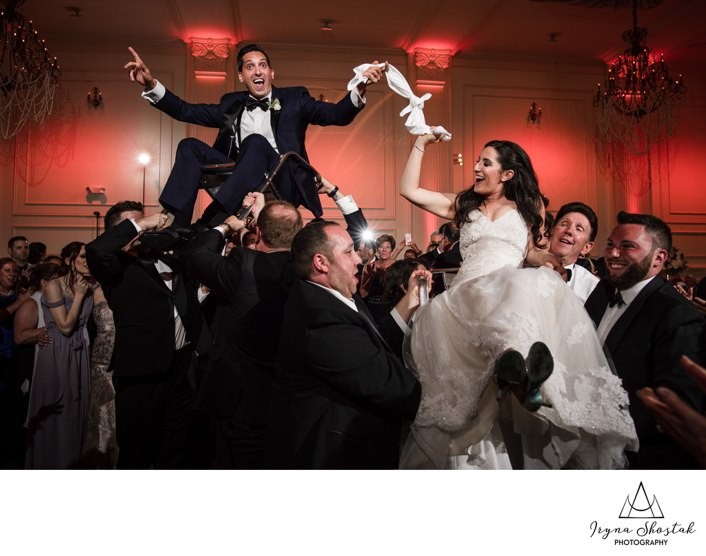 Wedding photographer at Cescaphe Ballroom