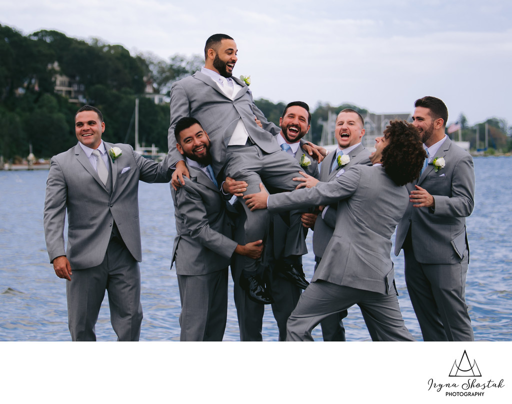 Toms River Fun Wedding Photography