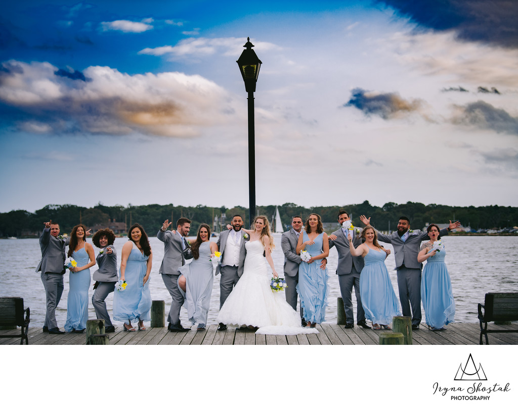 Bridal Party Photography at Toms River
