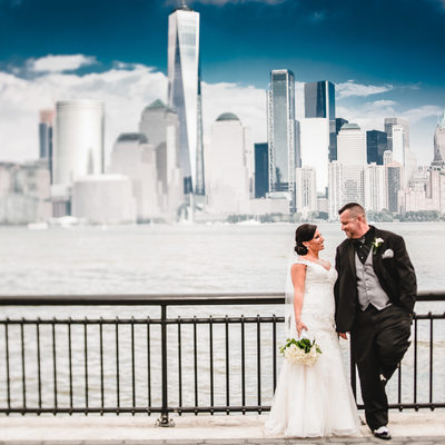 Wedding photographs in New Jersey City