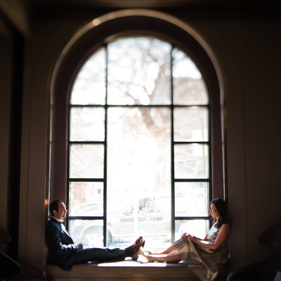 Renaissance Philadelphia Hotel engagement photography