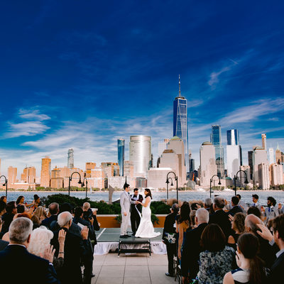 Hyatt Regency Jersey City wedding photography