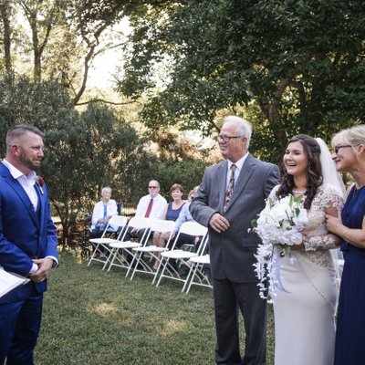 Wedding Ceremony at Historic Belmont Hall