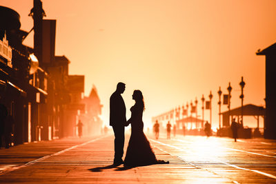 Outdoor wedding photography in Ocean City