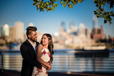 Engagement photographer in Camden