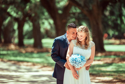 Boone Hall Plantation destination wedding photographer