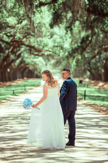 Boone Hall Plantation best  wedding photographer
