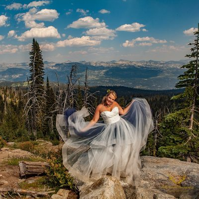 Brundage mountain wedding photographer