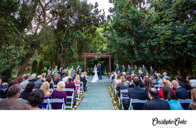 wedgewood redwood canyon wedding ceremony