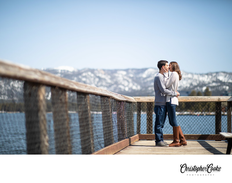 Lake Tahoe Engagement Portraits
