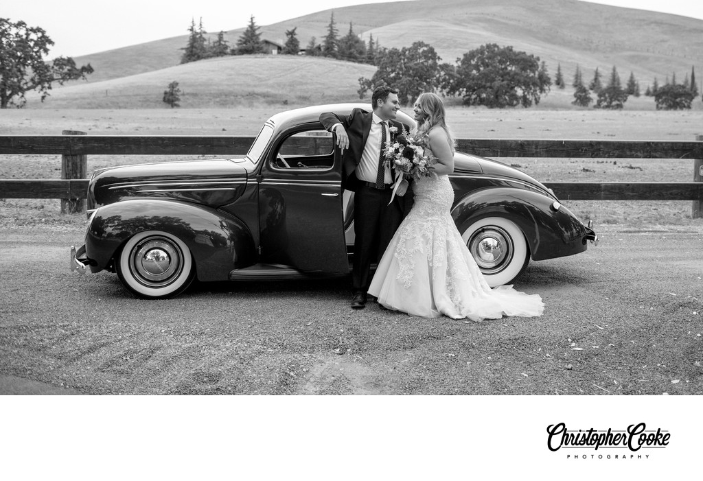 Livermore Wedding Photographer Wedding with cars
