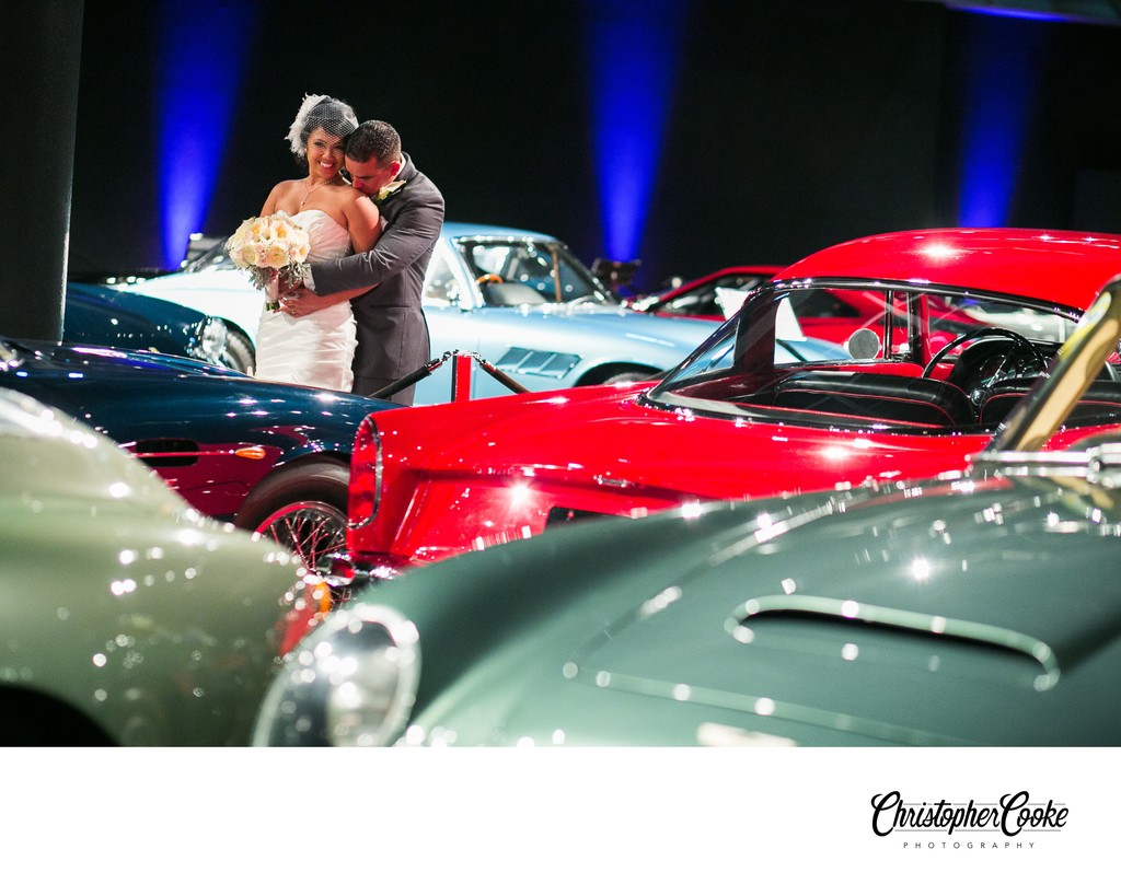 Blackhawk Auto Museum Wedding Photographer