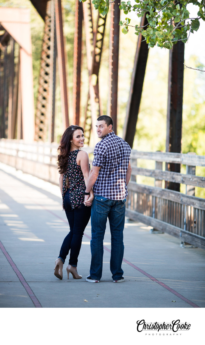 Winters Engagement Photographer
