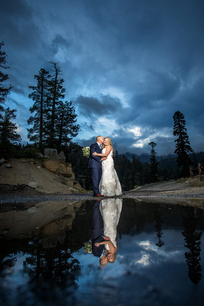 Lake tahoe wedding photographer heavenly wedding