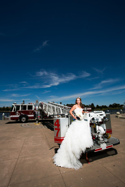 firefighter wedding pictures suisun city fire
