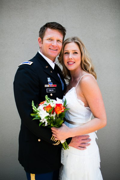 Military Wedding Photographer in Sacramento