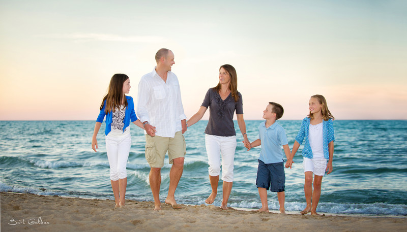 Family Portrait Photography in Wilmette by Bart Galbas
