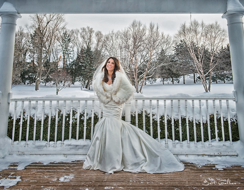 Concorde Banquets Winter Wedding