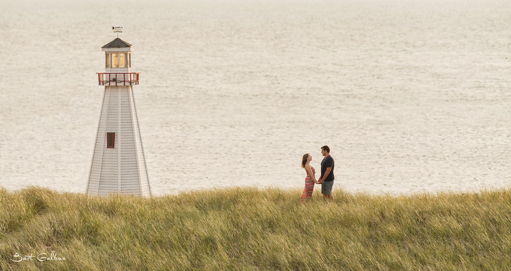 New Buffalo Michigan Engagement Portrait Session