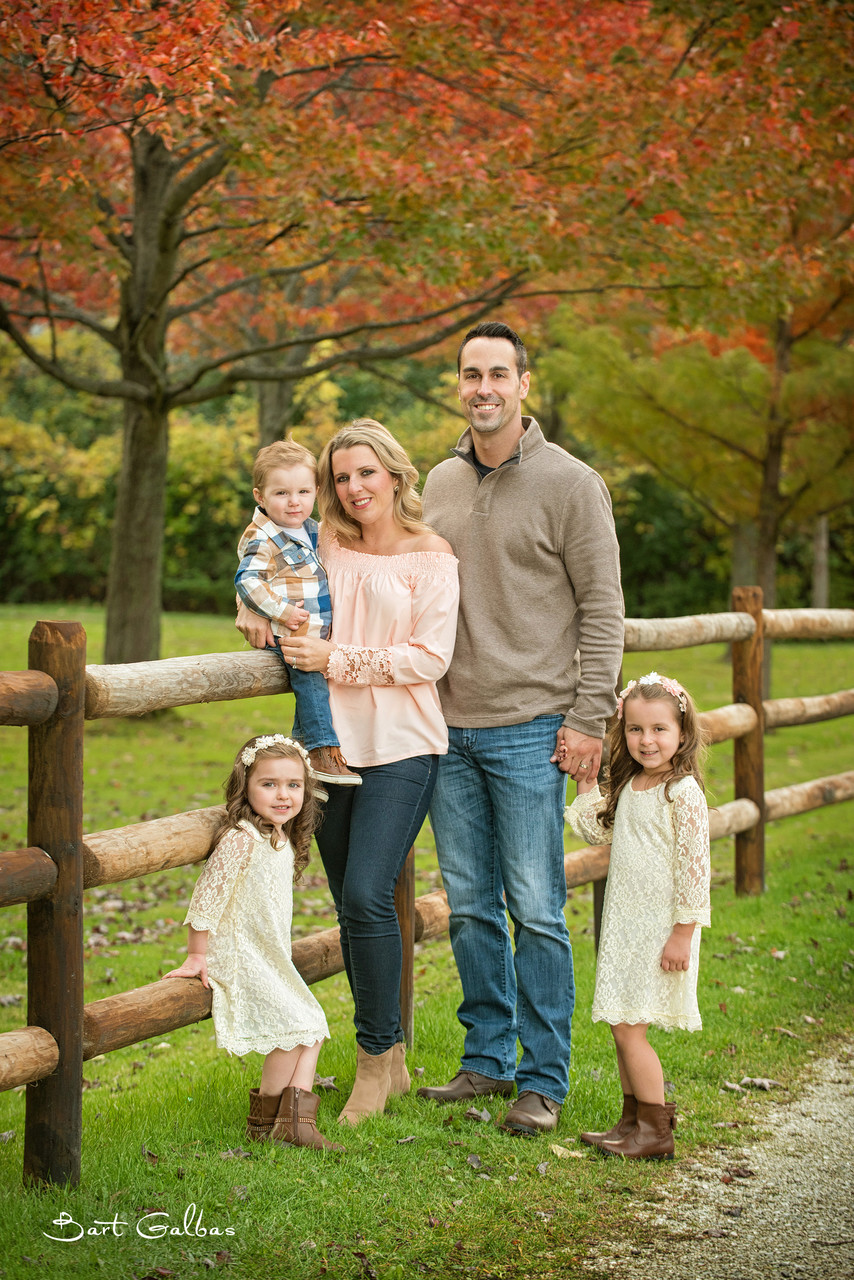 Portrait Photography in Barrington of Family and Kids