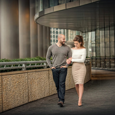 Trump Tower Engagement Session by Bart Galbas