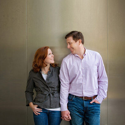 Engagement Portrait by Bart Galbas at the Trump Tower