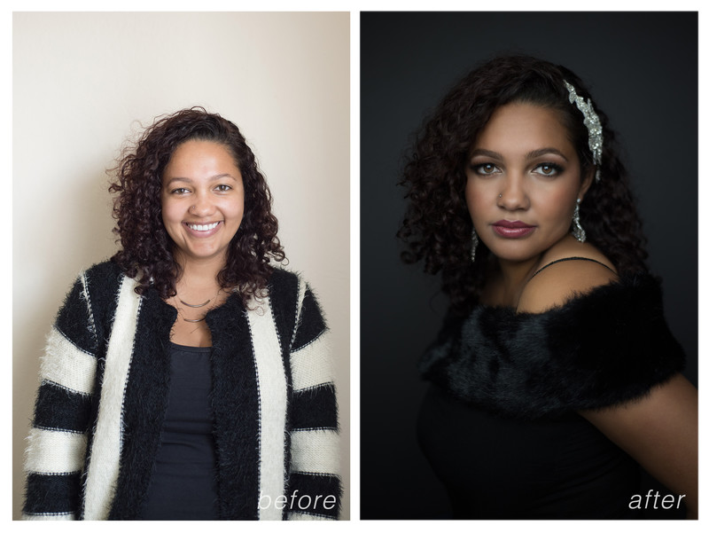 Nashville Beauty Makeover Portraits for women