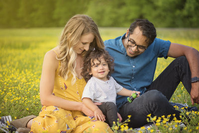 Professional Outdoor Family Photos Nashville