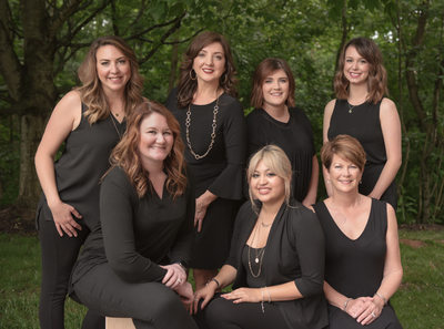 Group photoshoot for professional branding franklin tn