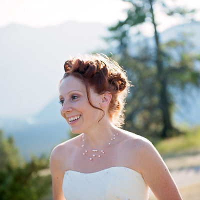 Banff wedding female photographer
